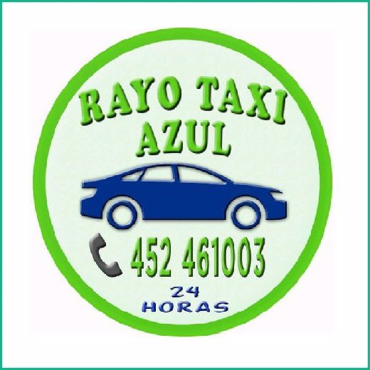 RAYO TAXI AZUL